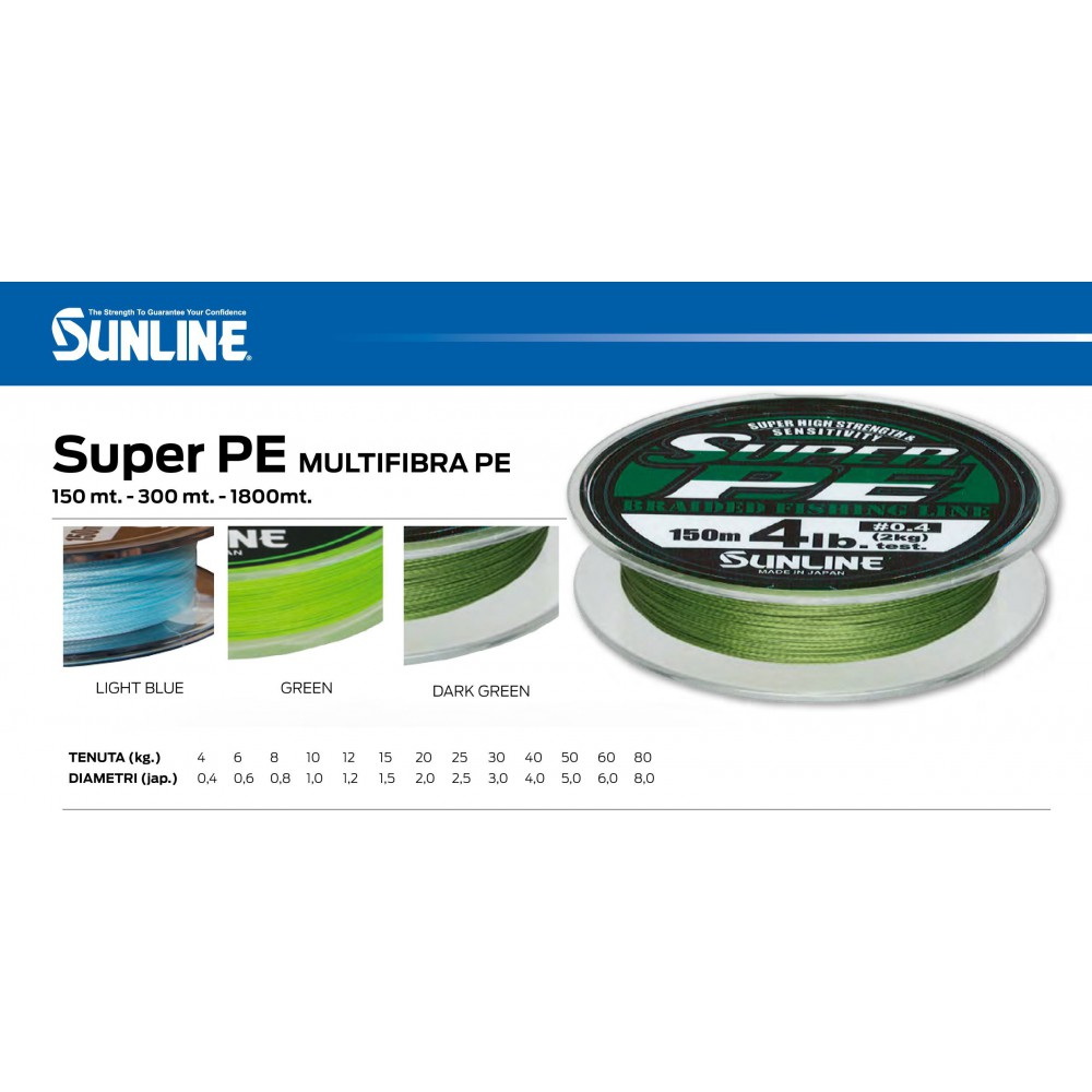 SUNLINE NEW SUPER PE 150 MT