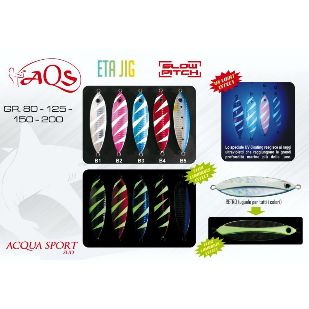 ETA JIG (slow pitch) 150 GR