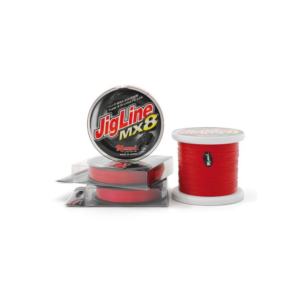 MOMOI JIGLINE MX8 RED MT.300  0,20 30LB