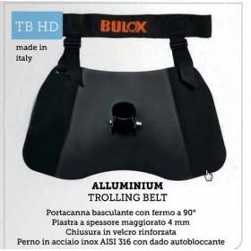 BULOX CINTURA ALLUMINIUM TB HD