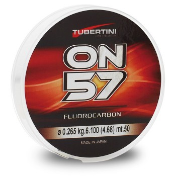 Tubertini Fluorocarbon ON57 50 mt 0,45