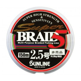 SUNLINE SUPER BRAID 5M 150 MT