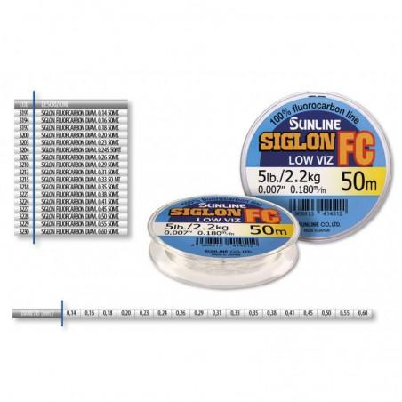 SIGLON FLUOROCARBON DIAM. 0.31 50 MT.