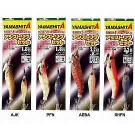 YAMASHITA NAORY ASSIST RIG SET 1,8B COL AJK