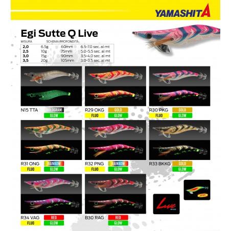 YAMASHITA EGI SUTTE Q LIVE MIS 2.5