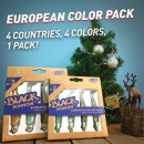 FIIISH EUROPEAN PACK N.3 12GR 4 ARTIFICIALI