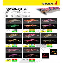 YAMASHITA EGI SUTTE Q LIVE MIS 3.0