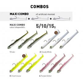 FIIISH Maxi COMBO MD100 90 mm 3pz 5gr-10gr-15gr