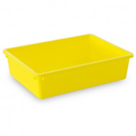 Tubertini Yellow Plastic Tray