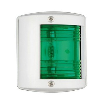 Fanale U77 verde/bianco