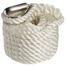 Cima ormeggio bianca 10 mm x 6 m