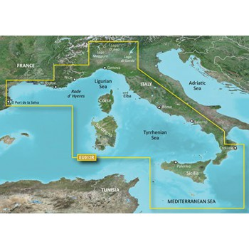 microSD™/SD™ card: HXEU012R - Mediterranean Sea, Central-West