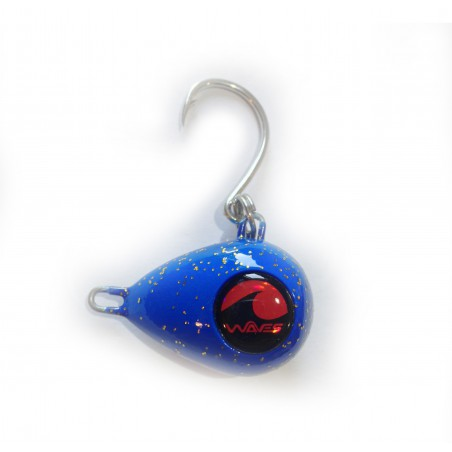 waves lures rockit 120g vmc blue