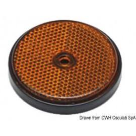 catarifrangente tondo per carrelli arancio 60mm - mattiperlapesca.com