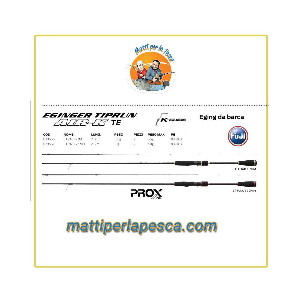 Prox Eginger Tiprun Etrakt 7.2 MH max 60gr - mattiperlapesca.com