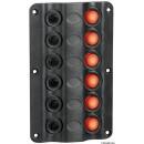 Pannello elettrico Wave 6 interruttori - mattiperlapesca.com