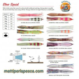 Artificiale Sea Falcon Slow Squid 150gr - mattiperlapesca.com