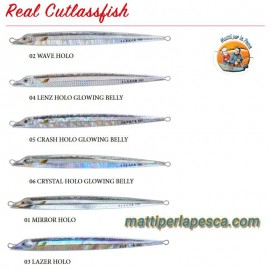 Artificiale Slow Jig Sea Falcon Real Cutlassfish 180gr - mattiperlapesca.com