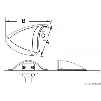 Orecchietta protezione inox grande - mattiperlapesca.com