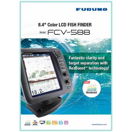 FCV 628 FURUNO COLOR LCD SOUNDER