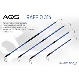 RAFFIO AQS INOX  316 150 cm - mattiperlapesca.com