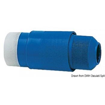 Spina 30 A 220 V blu nautica - mattiperlapesca.com