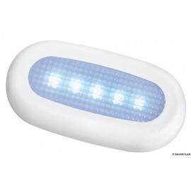 Luce di cortesia stagna 5 LED bianca