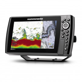 Humminbird EcoGps HELIX 9 CHIRP DS SONAR CHARTPLOTTER GPS G3N
