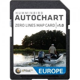 Cartografia Humminbird AUTOCHART ZEROLINE SD CARD EUROPE