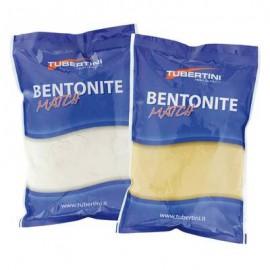 Tubertini Legante colla pastura BENTONITE 1kg. Grigia fine