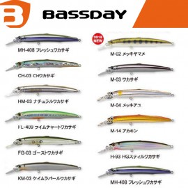 BASSDAY SUGAR MINNOW SLIM 120F minnow floating