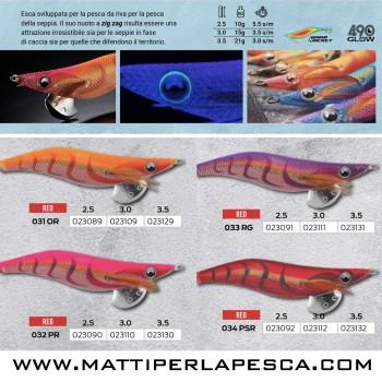 Totanara Eging Yamashita EGI-OH Live 2.5 Basic pesca seppie e calamari da terra