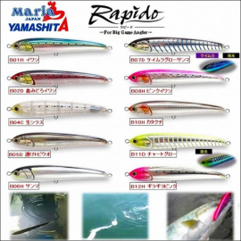 Artificiale Maria Rapido 230 MM FL. 100GR popping spinning mangianze tonno