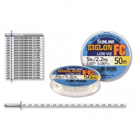 SIGLON FLUOROCARBON DIAM. 0.26 50 MT.