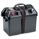 Minn Kota Power Center (box portabatteria, indicatore di carica, int. termici, 2 prese accendisigari
