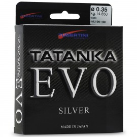 Monofilo Tubertini Tatanka Evo Silver 150mt fluorine pesca mare acqua dolce