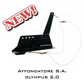 Affondatore Traina Alluminio OLYMPUS S.A. 2.0 traina al calamaro