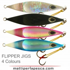Artificiale Flipper Jig Black Magic 200gr slowpitch jigging dentici cernie
