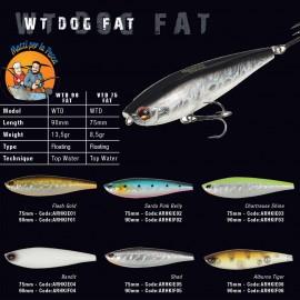Herakles Wt-Dog 75 Fat topwater pesca in mare
