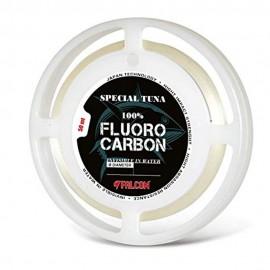 Falcon Tuna Fluorocarbon color Champagne 50 mt 0,78mm pesca tonno drifting