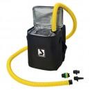 Gonfiatore BST800 Si ferma alla pressione impostata. Completo di raccordi universali.