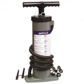 Gonfiatore Bravo 6 Funzionamento a stantuffo con una portata di 6 litri ogni pompata a flusso continuo