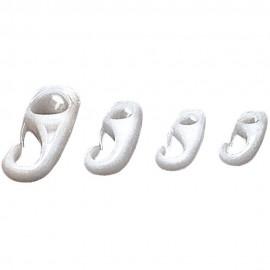 Gancio in nylon, fissaggio con nodo per elastici Ø mm 4