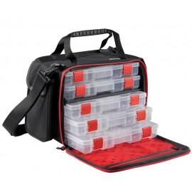 Borsa Abu Garcia Medium Lure Bag porta artificiali con 5 scatole