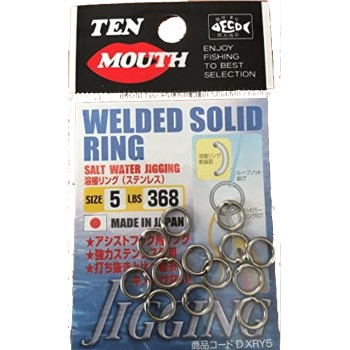 Ten Mouth Wellded Solid Ring