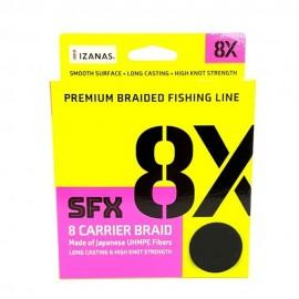 Trecciato Sufix SFX 8X 135 mt Green spinning bolentino