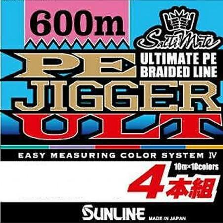 trecciato Multicolor Sunline pe jigger ult 4 600mt