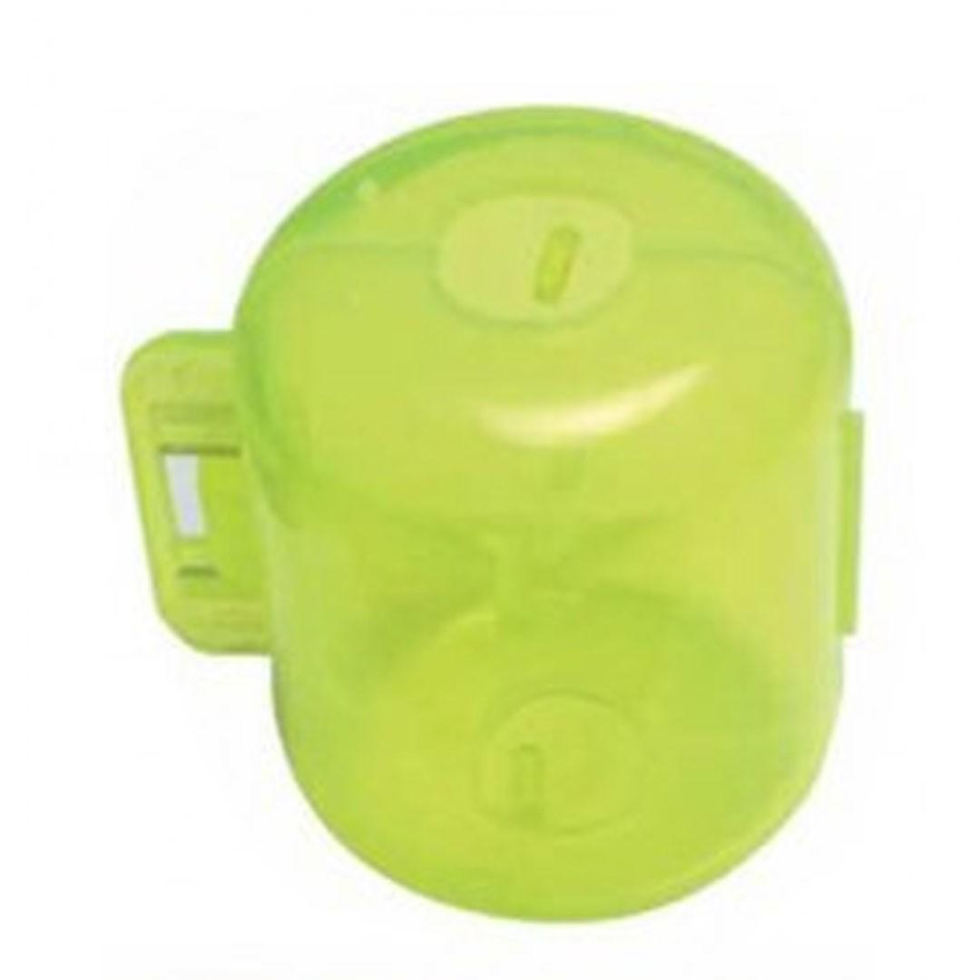 Pallina in plastica salva ancorette per Egi ed artificiali da spinning. Confezione da 4 pcs