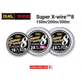 duel super x-wire 8 fili 300 mt 30lb pe 1.5