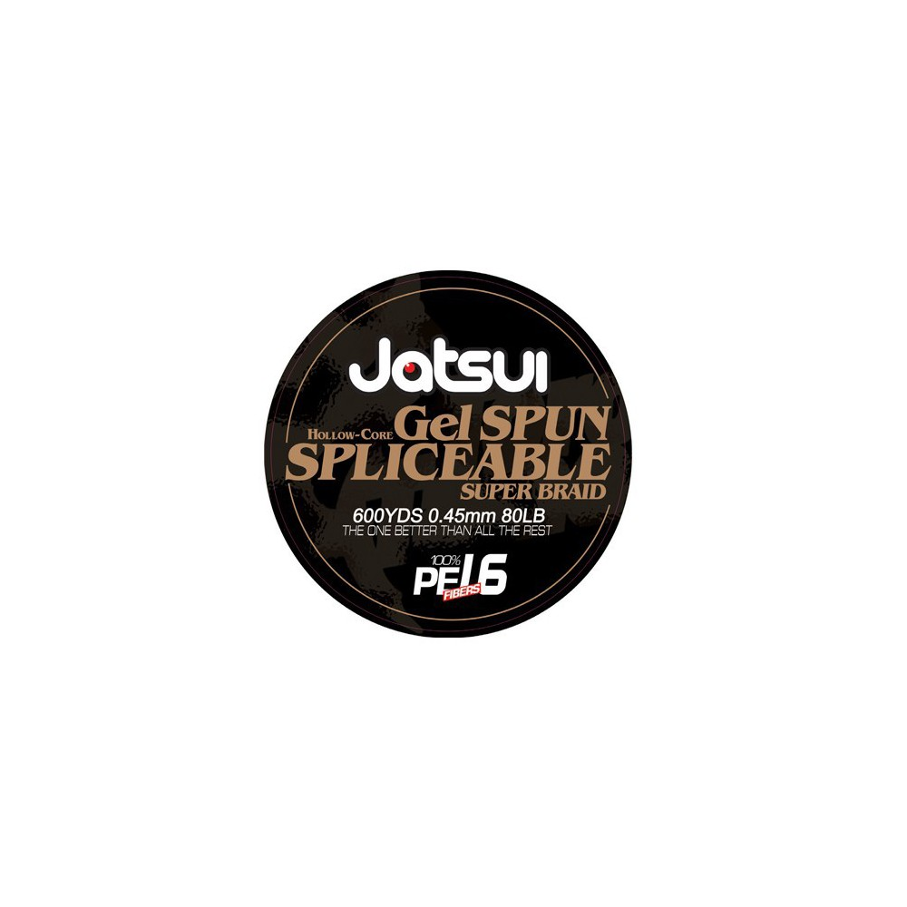 JATSUI HOLLOW CORE 16PE 100LB 600YD